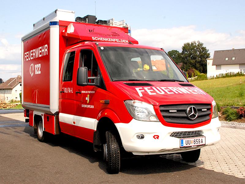 Kleinlöschfahrzeug-Logistik (KLFA-L)